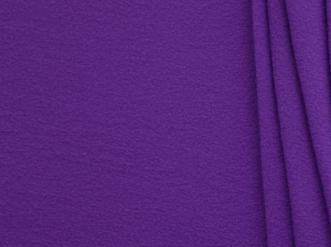 150cm PLAIN POLAR FLEECE PURPLE