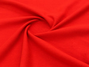 150cm PLAIN MELTON BRIGHT RED