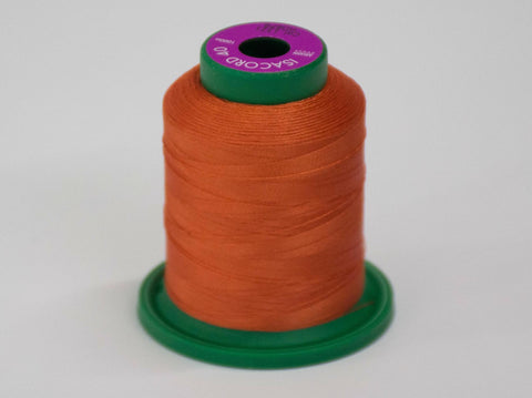 1000m ISACORD EMBROIDERY THREAD ORANGE