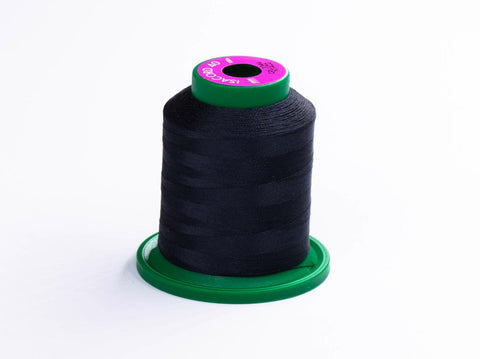 1000m ISACORD EMBROIDERY THREAD BLACK