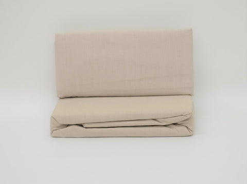 DOUBLE/QUEEN FLAT SHEET TAUPE