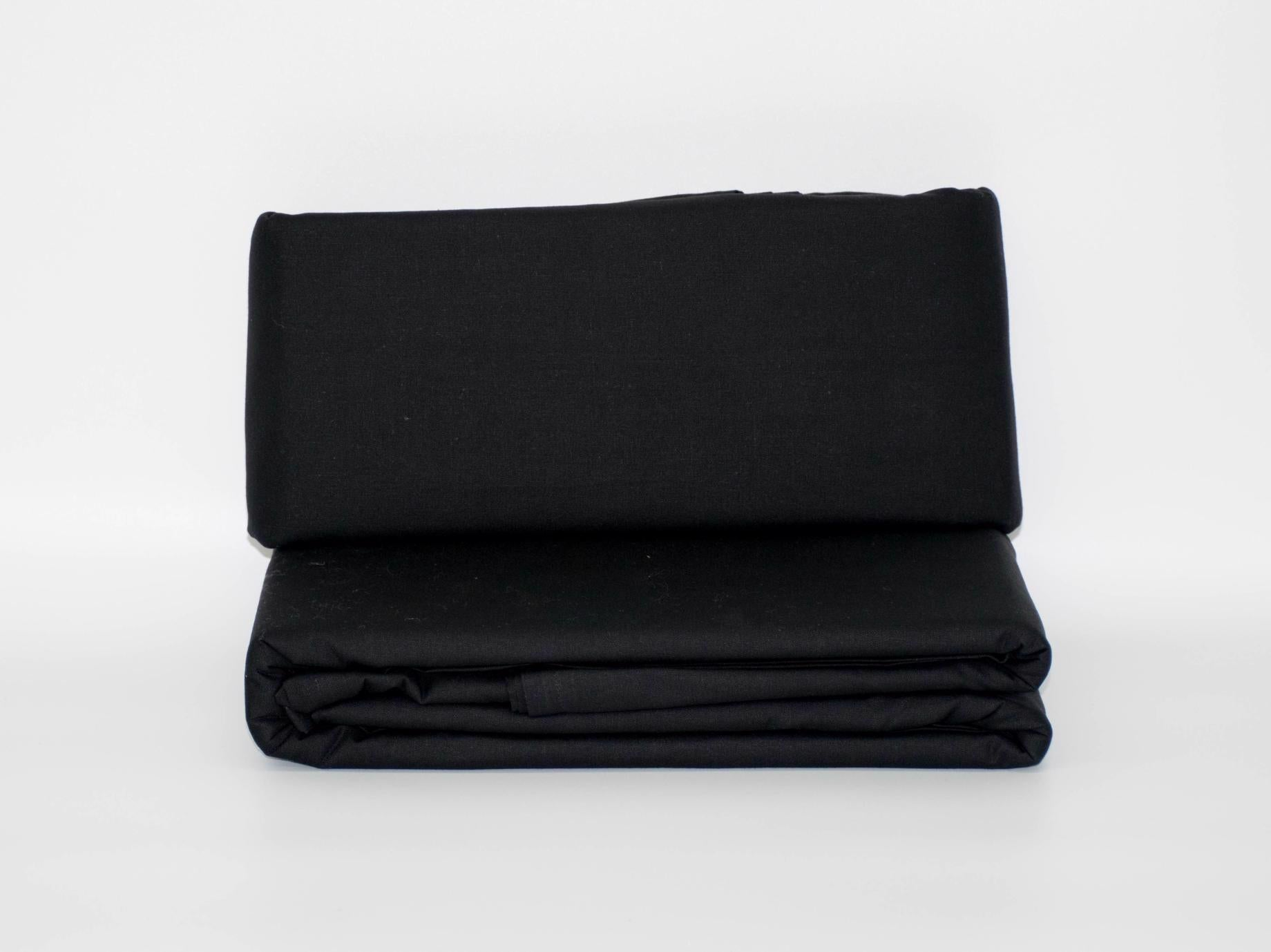 KING FLAT SHEET BLACK