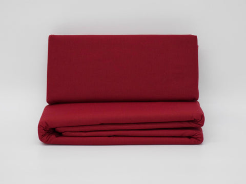 QUEEN FITTED SHEET WINE
