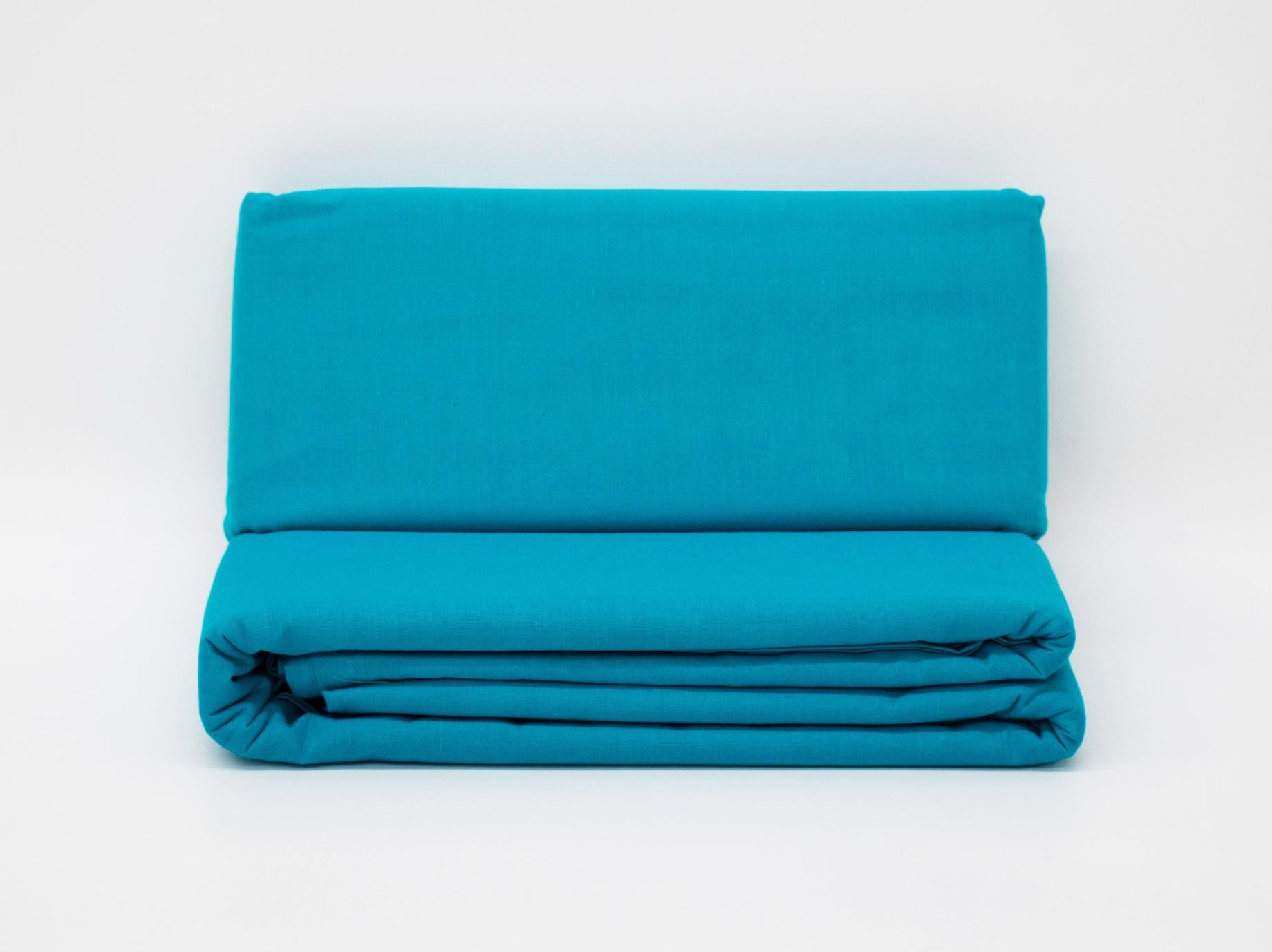KING FITTED SHEET TURQUOISE