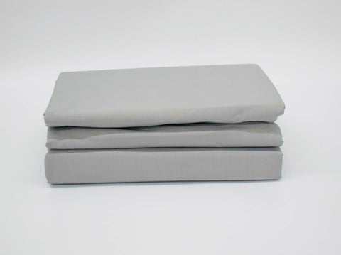 QUEEN 200TC OXFORD DUVET COVER SILVER