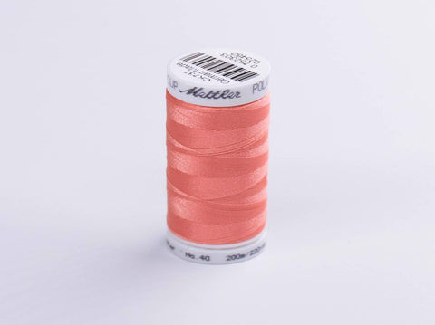 200m METTLER POLY  SHEEN COTTON PINK