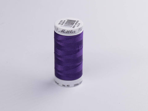 200m METTLER POLY  SHEEN COTTON PURPLE