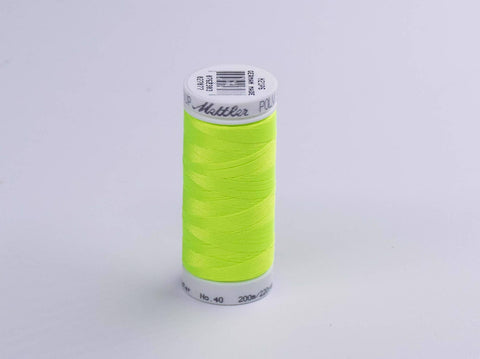 200m METTLER POLY  SHEEN COTTON GREEN