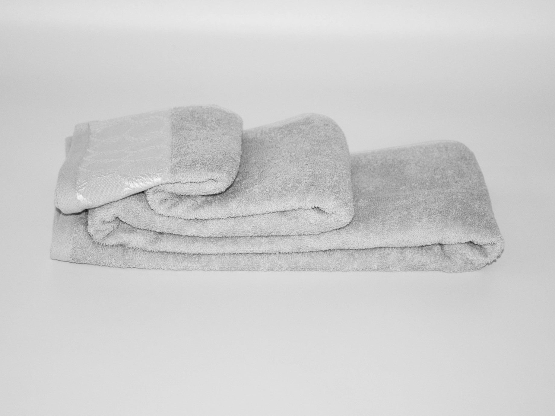 70x140cm CHAIN BATH TOWEL GREY