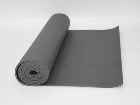 61x173cm PVC YOGA MAT DARK GREY