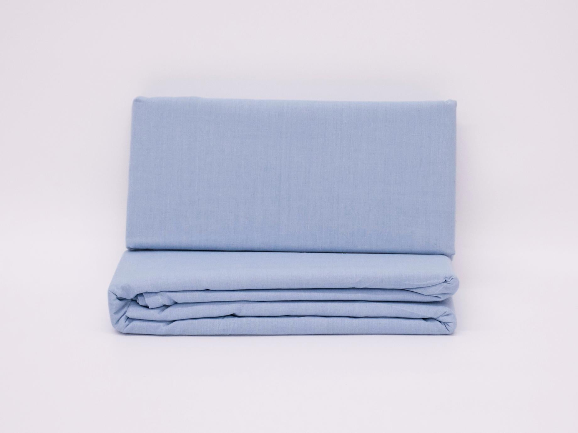 3/4 BED WRAP SKY BLUE