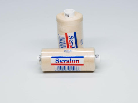 1000m SERALON POLYESTER SEWING THREAD NATURAL