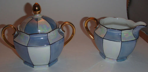 Bavarian Matching Sugar and Cream Set