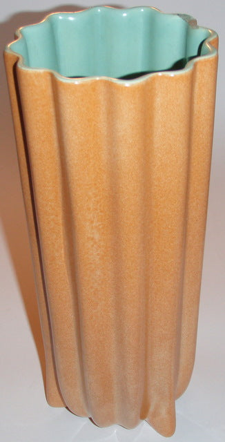 Catalina Pottery Ribbed Vase
