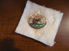 Load image into Gallery viewer, Fur Rendezvous Enamel Anchorage, Alaska 1986 Beaver Collector Pins