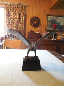 Great American Bronze Eagle Sculpture by Gilroy Roberts