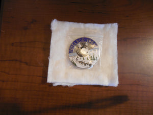 Iditarod 1986 Large Round Pin