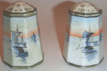Load image into Gallery viewer, Nippon China Vintage Salt & Pepper Shakers