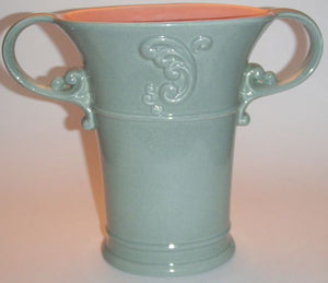 Red Wing Pottery Vase (763)