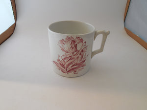 Shaving Cup with Matching Saucer England