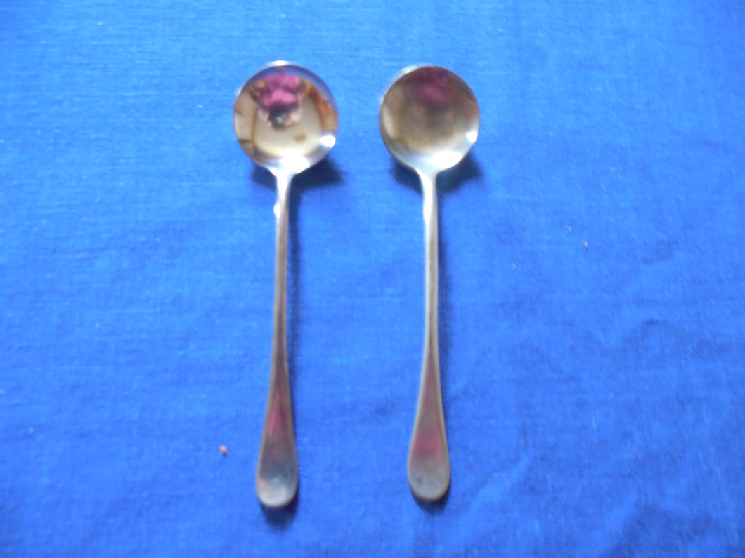 Small Silver Plated Spoon