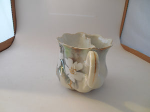 Vintage R.S. Germany Shaving Mug with Tree Holes