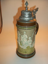 Load image into Gallery viewer, Vintage Relief Beer Stein