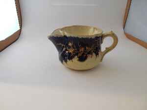 Vintage Scuttle Shaving Mug with Five Holes