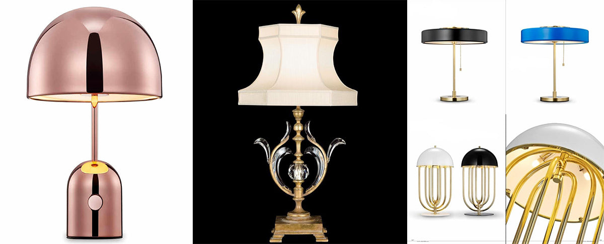 Modern Classic And Unique Design For Table Lamps.