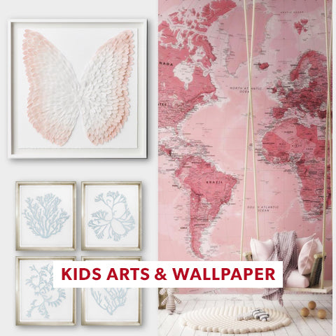 Kids Artworks and Wallpapers For Shower Registry- Angie Homes