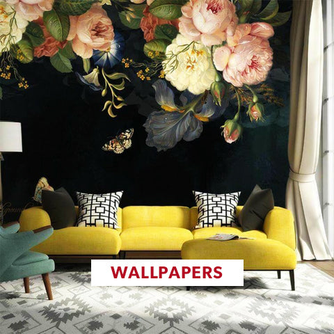 Wall Paper For Custom Registry- Angie Homes