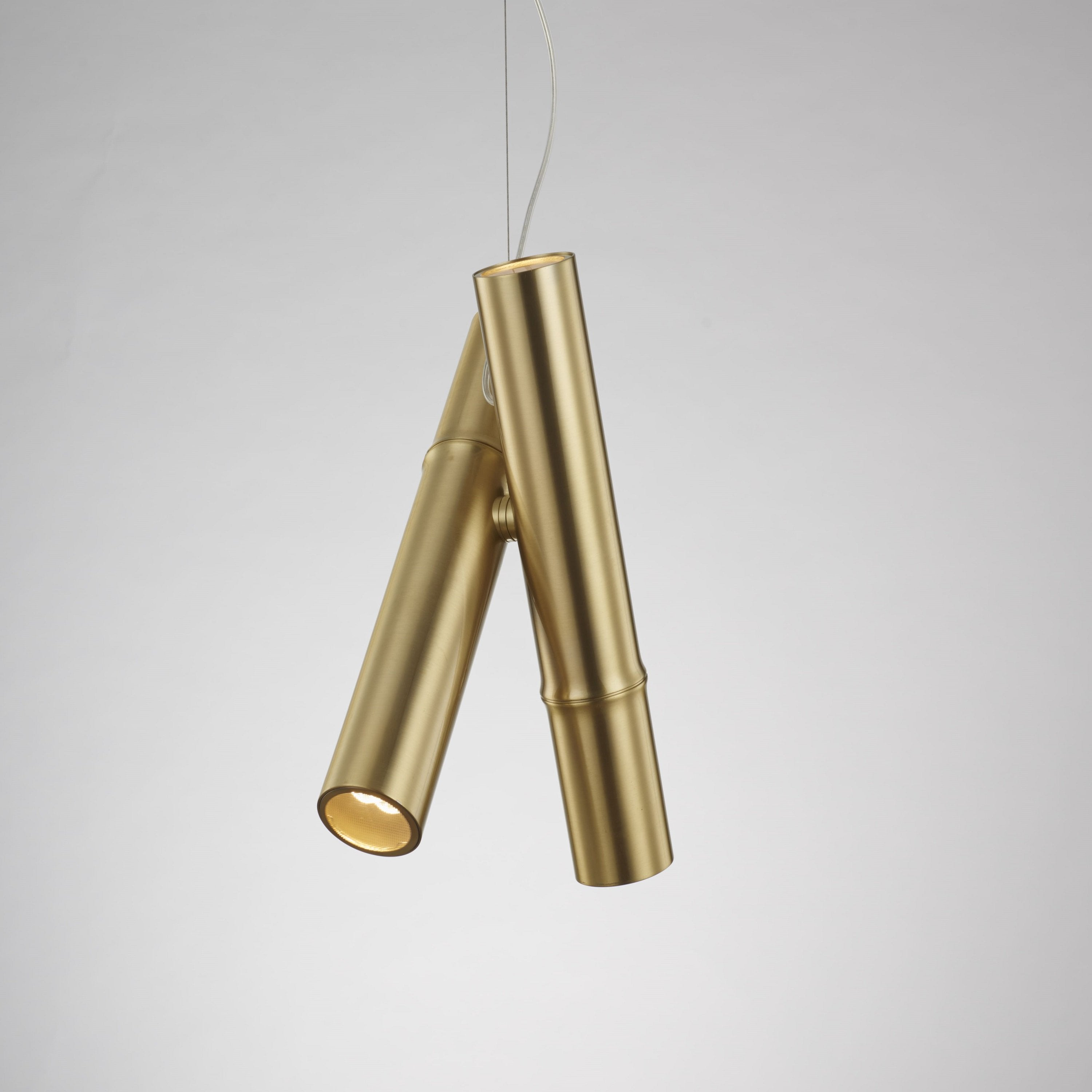 Luxury Gold coated pendent  light | ANGHI HOMES