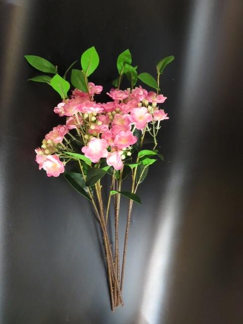 Luxury Pink Artificial Flower | Angie Homes
