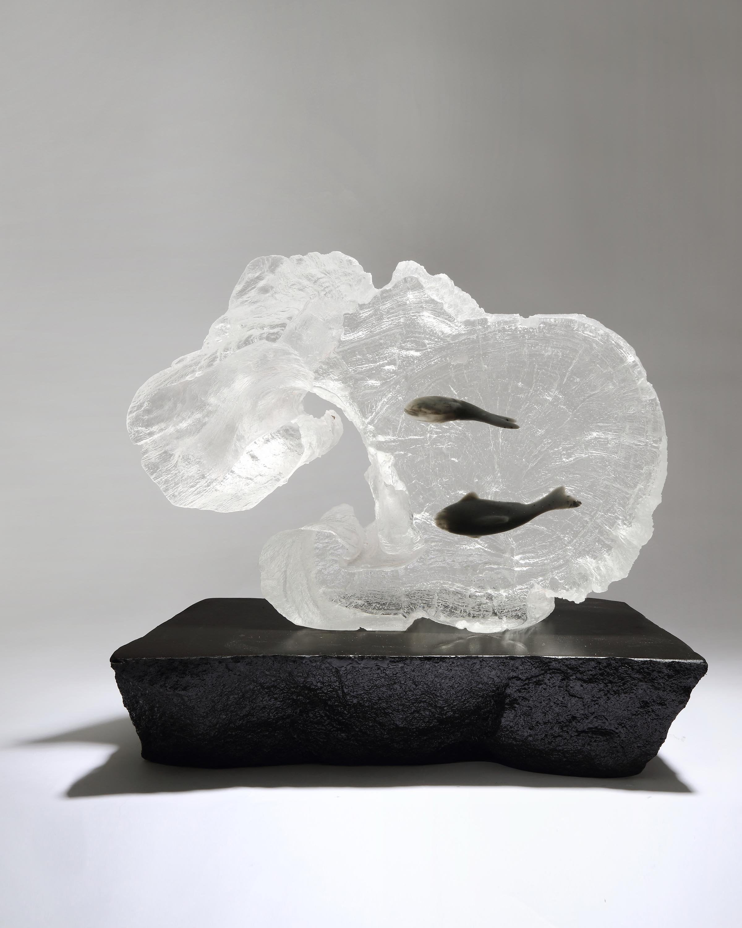 Luxury Crystal Acrylic Sculpture | Angie Homes