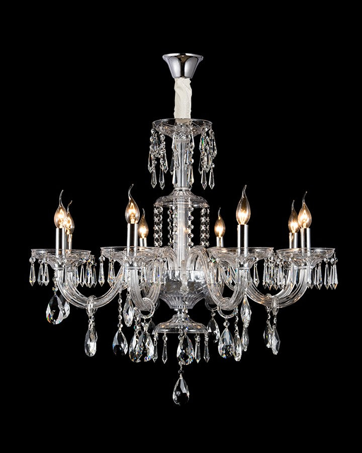 ERYK  CRYSTAL CHANDELIER ANGIE HOMES