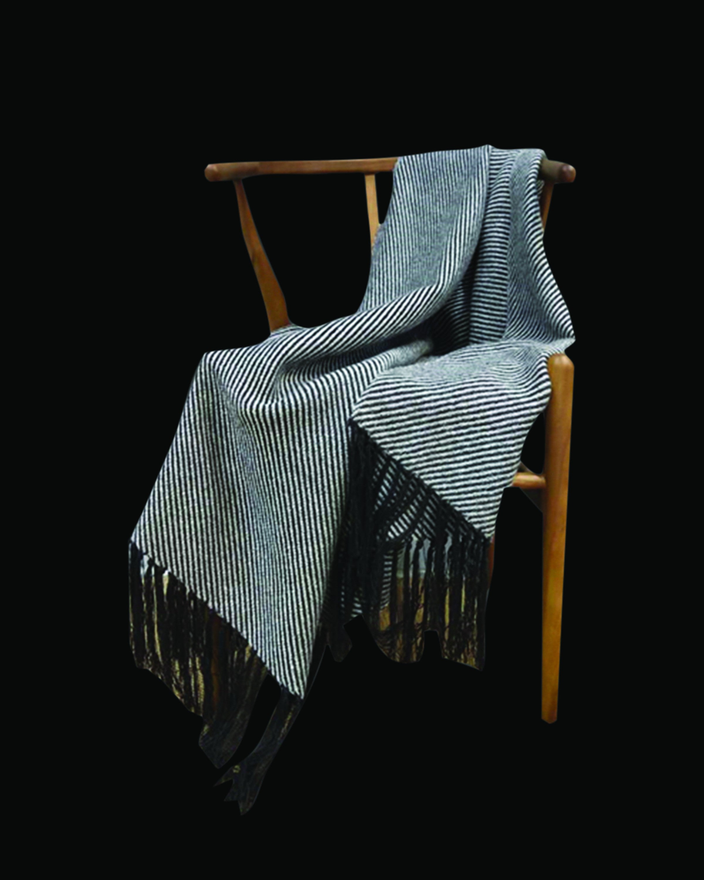 Contemporary blue & grey throws & blankets| Angie Homes