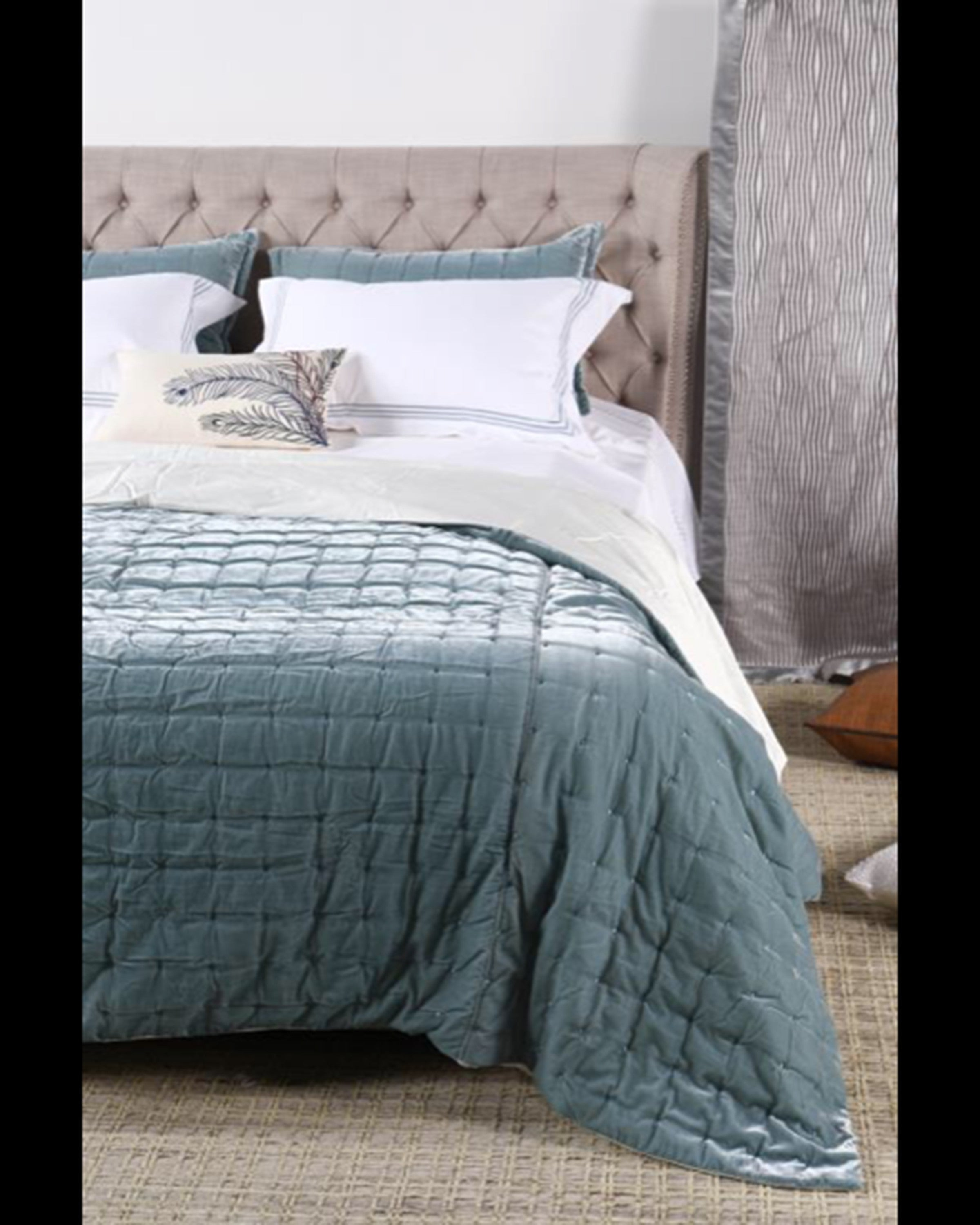 GATELLO LUXURY QUILTING  BED SET (SET OF 4)- ANGIE HOMES ANGIE HOMES
