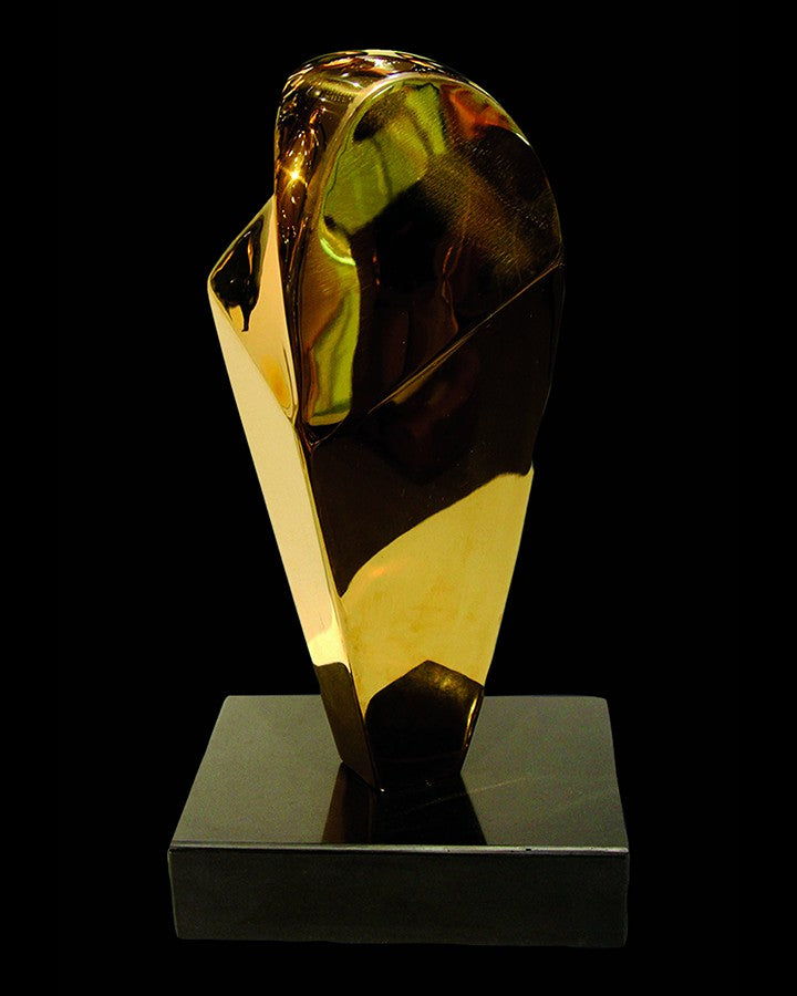 Luxury modern golden Acrylic Sculpture | Angie Homes