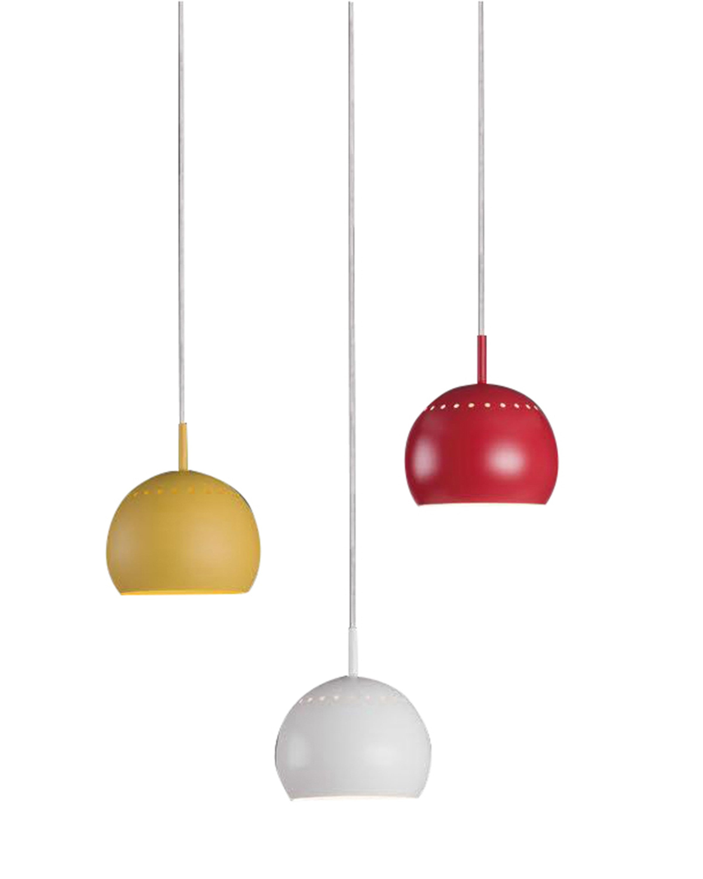 Modern colorful hanging light | ANGIE HOMES