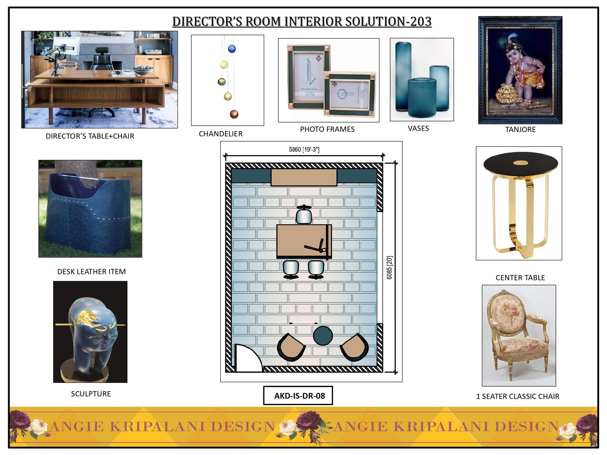 DIRECTOR'S ROOM INTERIOR SOLUTION-203