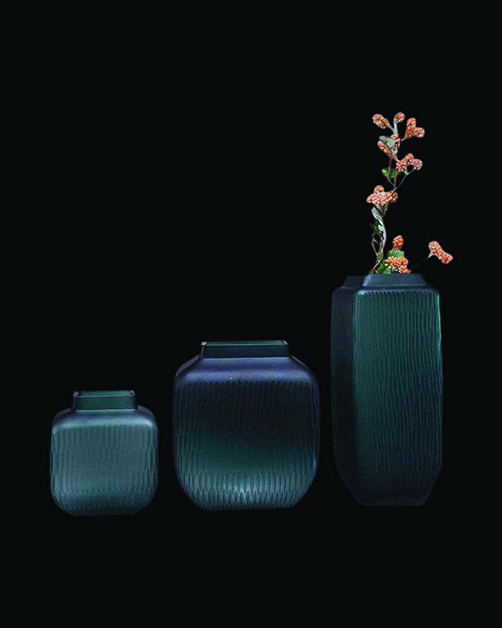 ITAKURA LIGHT GREEN VASES (3 PCS)- ANGIEHOMES.CO ANGIE HOMES