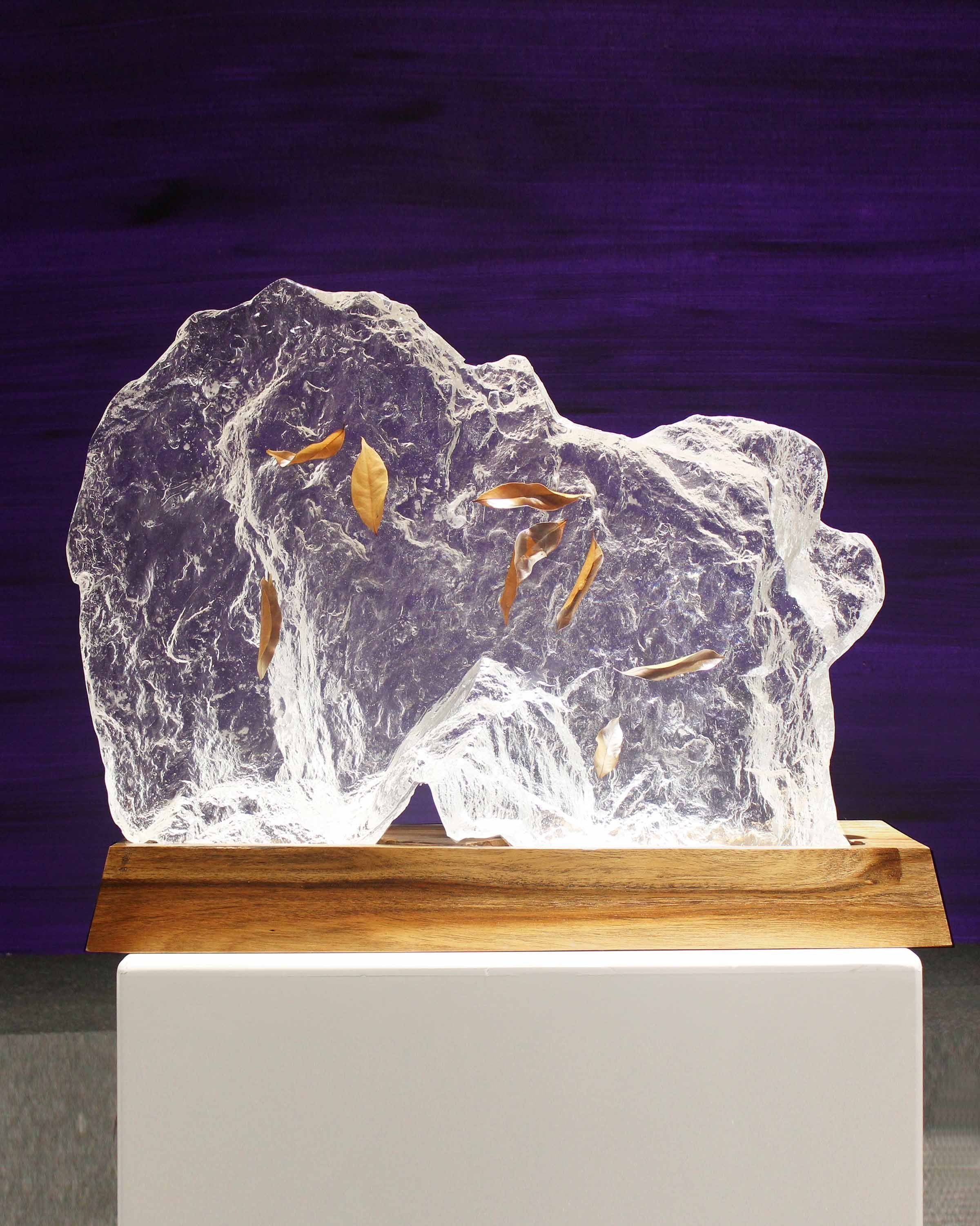 Luxury Transparent acrylic Sculpture | Angie Homes