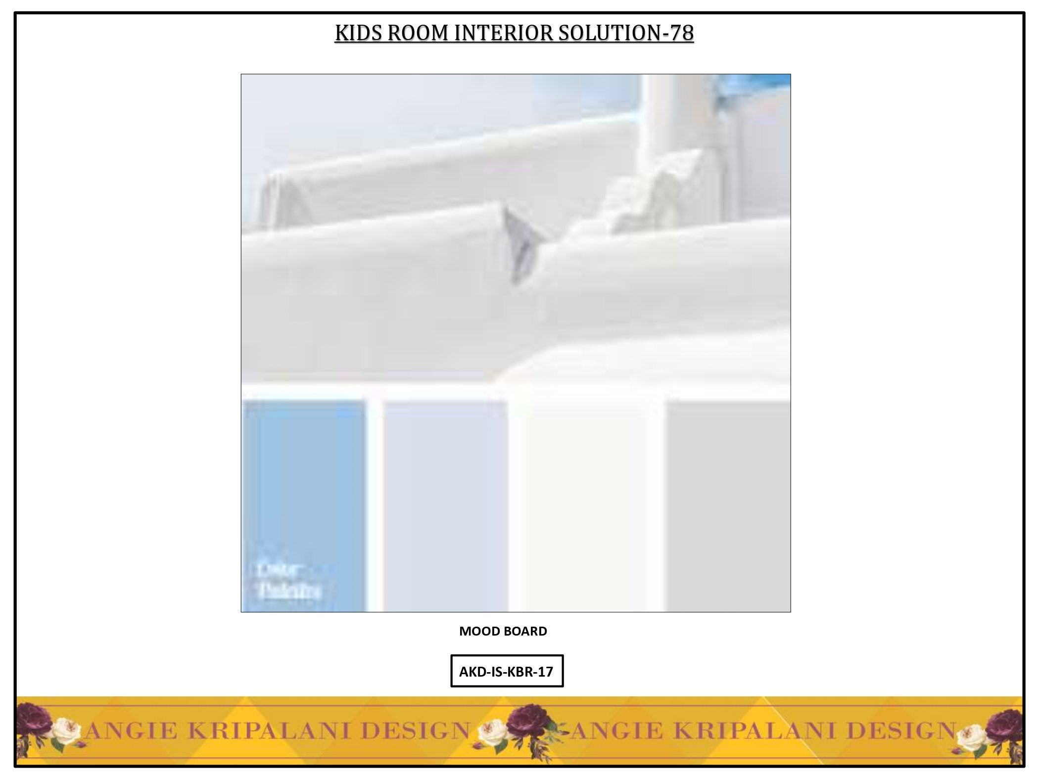 KIDS BED ROOM INTERIOR SOLUTION-78 ANGIE HOMES