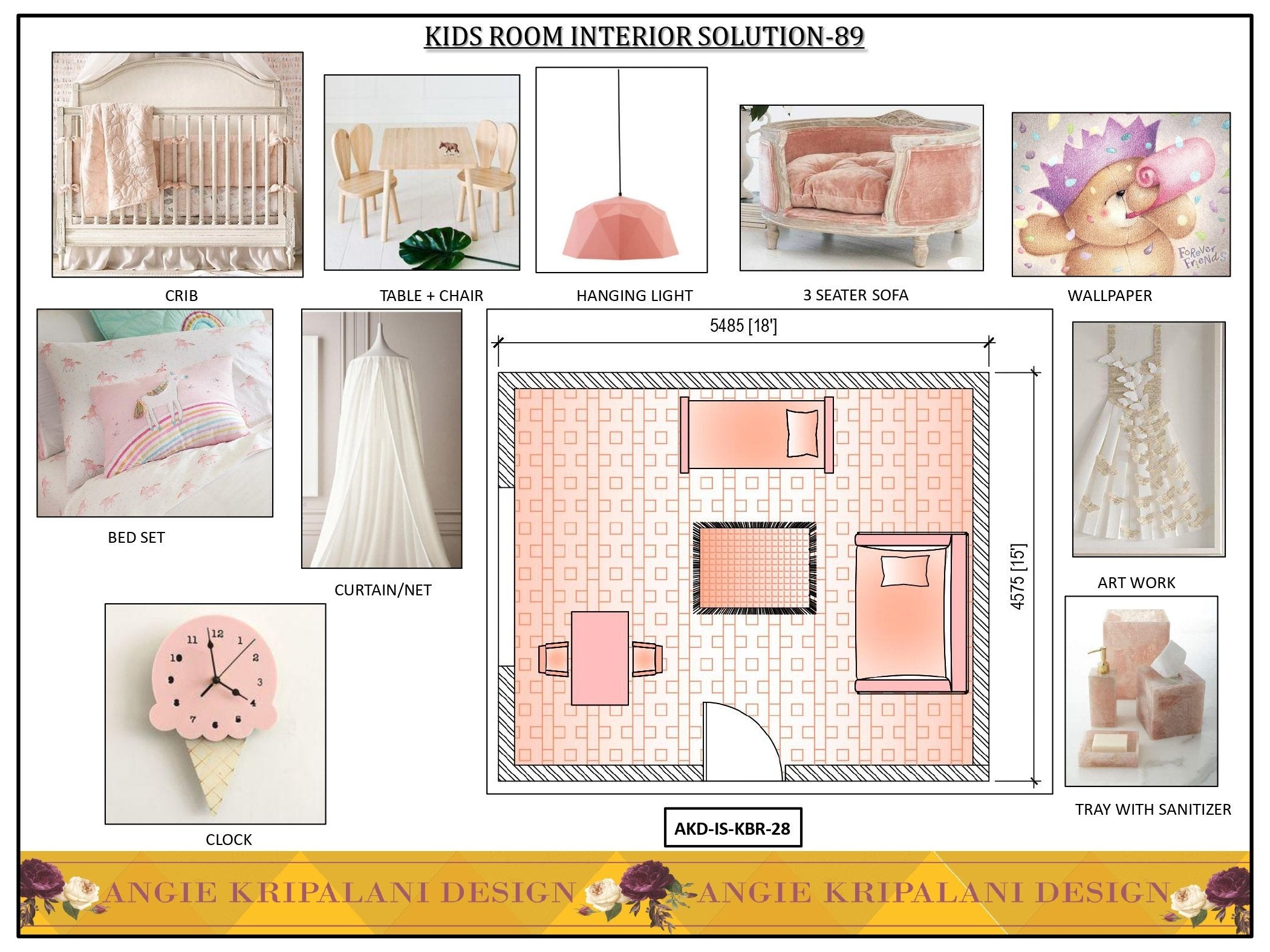KIDS BED ROOM INTERIOR SOLUTION-89 ANGIE HOMES
