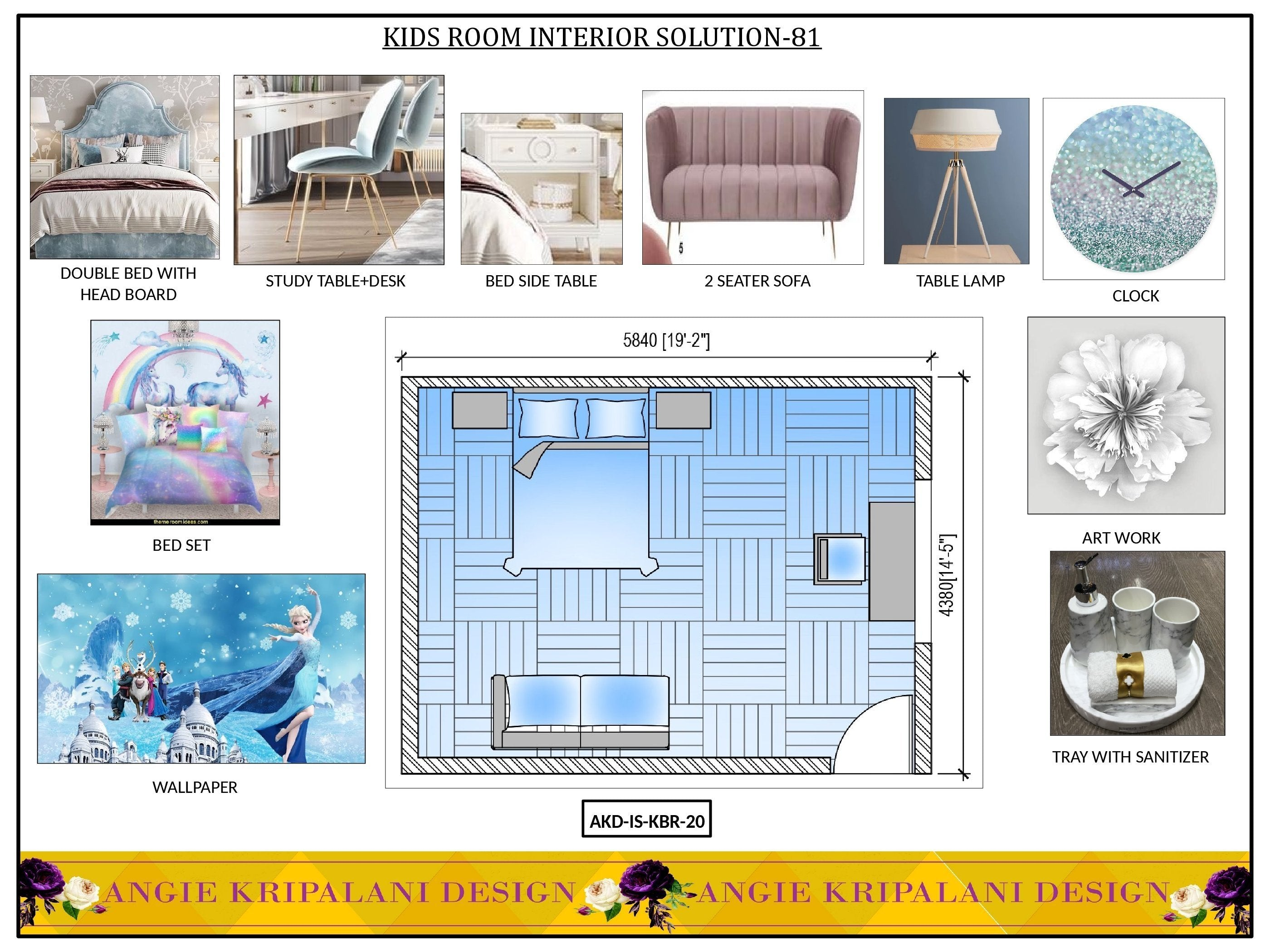 LUXURY KIDS ROOM INTERIOR SOLUTION-81 ANGIE HOMES