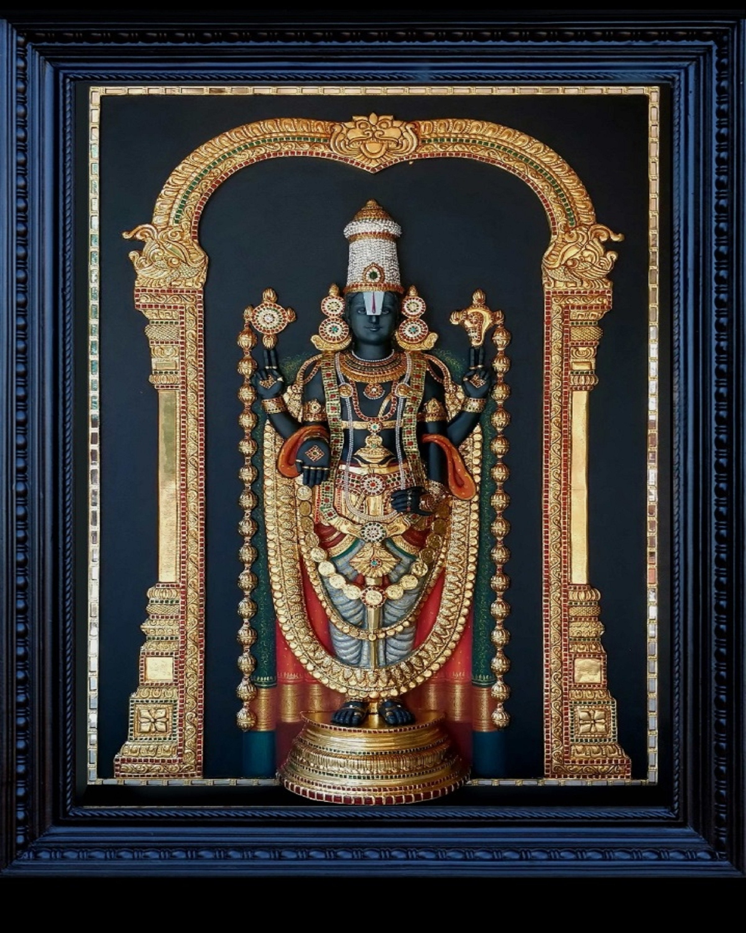 LORD BALAJI WITH MAKA- ANGIE'S INDIA ANGIE HOMES