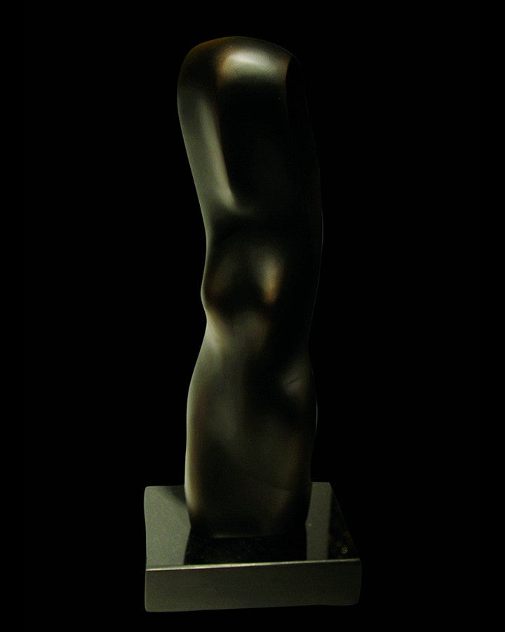Luxury black abstract sculpture | Angie Homes