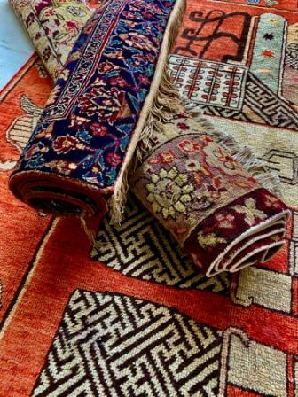 NAJM MULTICOLOR - KASHMIRI- CARPET-  ANGIE'S INDIA ANGIE KRIPALANI DESIGN - ANGIE HOMES- ANGIES INDIA