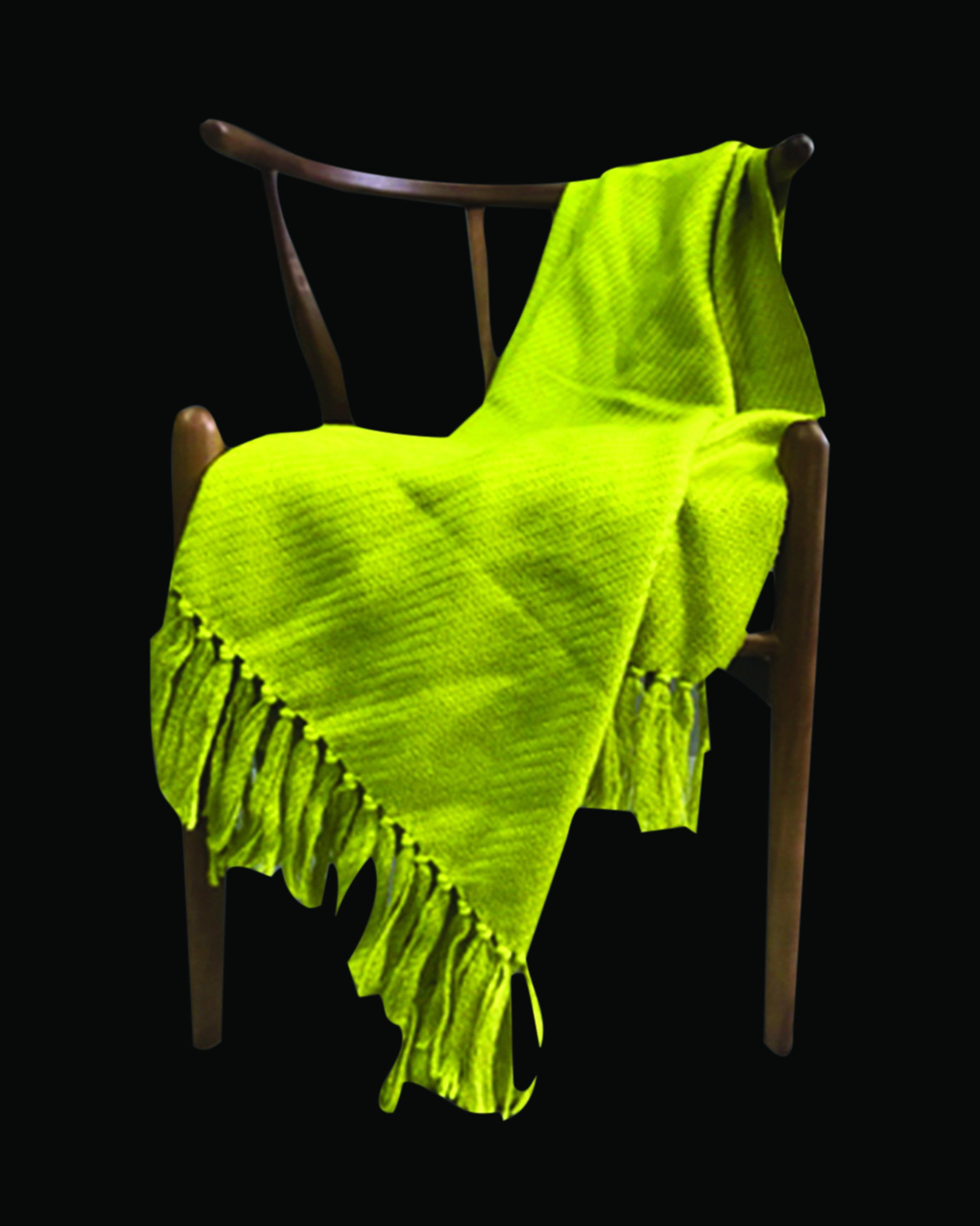 Luxury light green woolen throws & blankets | Angie Homes
