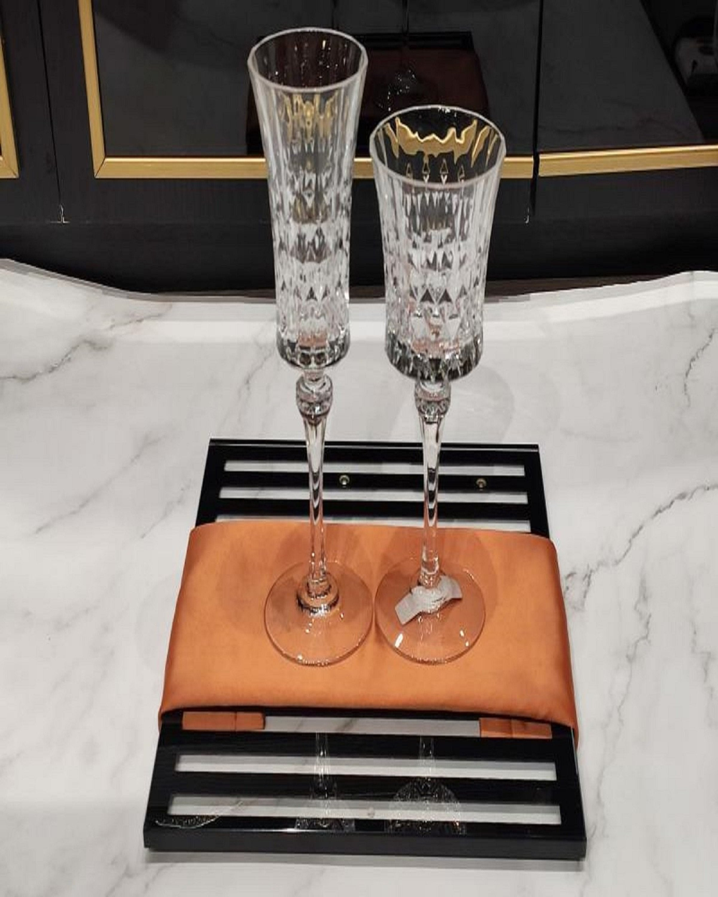 PERSOL CRYSTAL WINE AND CHAMPAGNE GLASS ANGIE HOMES